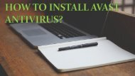 How to Install Avast Antivirus