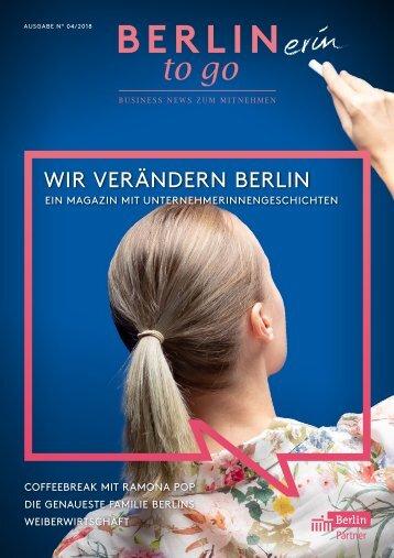 Berlin to go, Ausgabe 4.2018