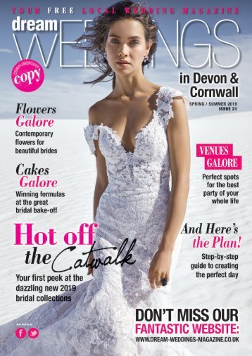 Dream Weddings Magazine - Devon & Cornwall - issue.31