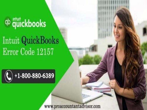 QuickBooks Error Code 12157 – How to Fix, Resolve