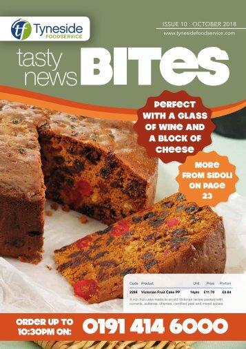 Tyneside Tasty Bites October 2018