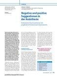 Negative und positive Suggestionen in  der Anästhesie Verbesserte ... - Seite 2