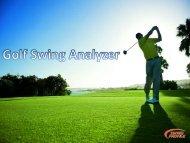 Golf Swing Analyzer- Analyze Your Golf Swing Easily
