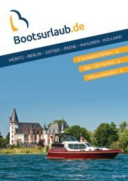 Bootsurlaub Onlinekatalog 2019