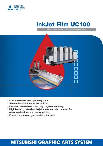 InkJet Film UC100 - Mitsubishi Paper