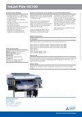 InkJet Film UC100 - Mitsubishi Paper - Page 2
