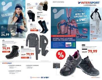 Folder décembre Intersport