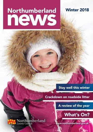 Northumberland News Winter 2018