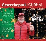 GewerbeparkJOURNAL Ausgabe Winter 2018