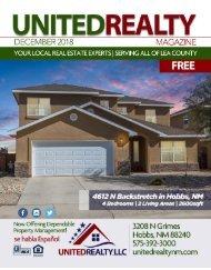 United Realty Magazine December 2018