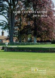 GCSE Courses Guide 2019-21