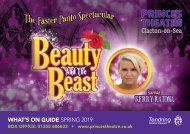 Princes Theatre, Clacton - Spring 2019 Show Brochure