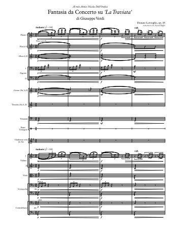 Traviata - Full Score