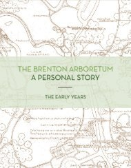 The Brenton Arboretum: A Personal Story