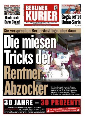 Berliner Kurier 10.12.2018