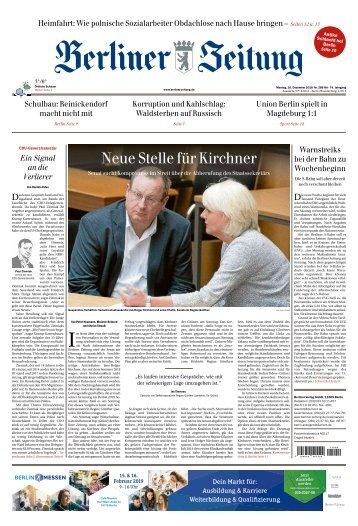 Berliner Zeitung 10.12.2018