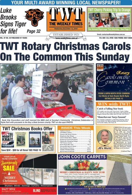 The Weekly Times - TWT - 12 December 2018