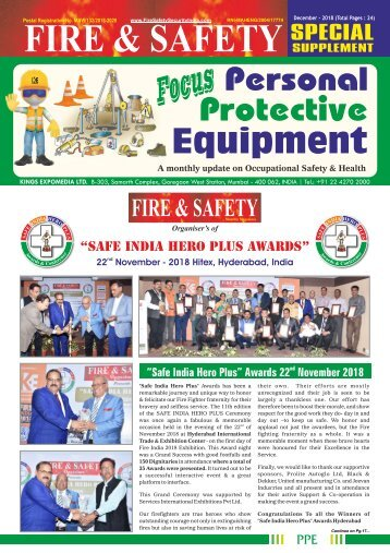 Focus Personal Protective Equipment December 2018