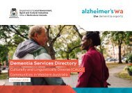 Alzheimer's WA - Services Directory CALD Communities
