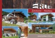 Prospekt Holzbau Erler GmbH