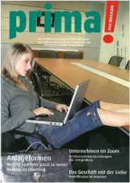 prima! Magazin - Ausgabe Oktober 2006