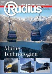 Radius Alpine Technologien 2018