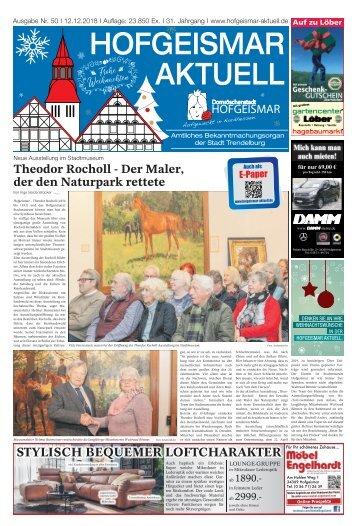Hofgeismar Aktuell 2018 KW 50