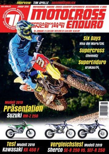Motocross Enduro Ausgabe 01/2019