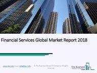Financial Services Global Market Report