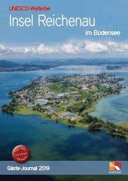 Gäste-Journal 2019 Insel Reichenau