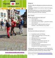 JAHRESPROGRAMM 2019 - Blättern