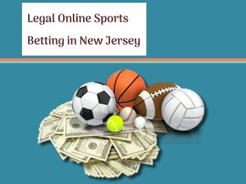 Legal Online Sports Betting in New Jersey