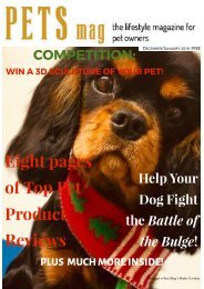 Pets Magazine Dec:Jan2019
