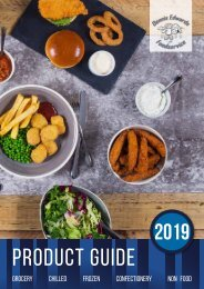 Dennis Edwards Product Guide 2019