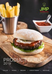 JMP Foodservice Product Guide 2019