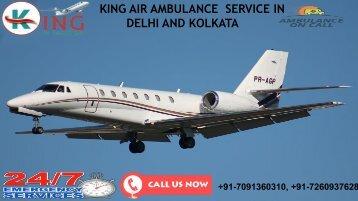 Get Best King Air Ambulance Service in Delhi and Kolkata at Low-Budget