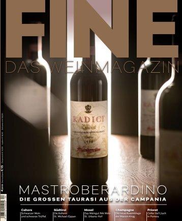 FINE Das Weinmagazin - 04/2018