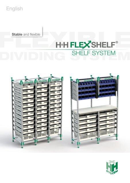 H+H FlexShelf - Shelf System / English