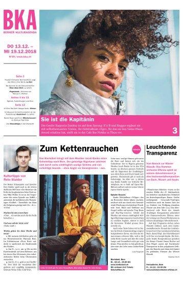 Berner Kulturagenda N°49
