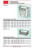 Lichtschächte aus glasfaserverstärktem Polyester ... - MHS - Seite 5