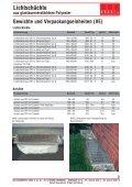 Lichtschächte aus glasfaserverstärktem Polyester ... - MHS - Seite 6
