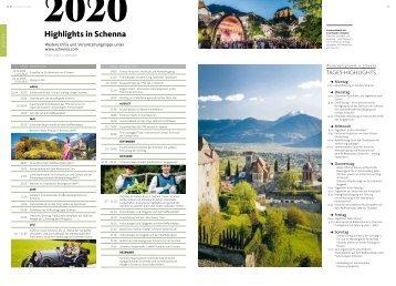 Veranstaltungen 2019 in Schenna