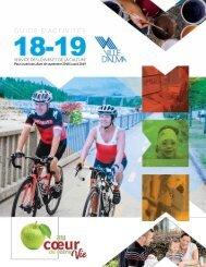 Guide des loisirs et de la culture de la Ville d'Alma 2018-2019