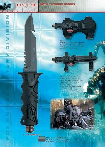 FKMD_BETA TITANIUM KNIVES