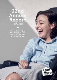 I AM HERE 22ND ANNUAL REPORT - 2017/2018
