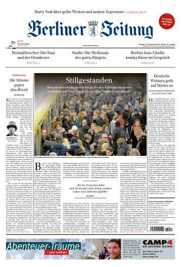 Berliner Zeitung 11.12.2018
