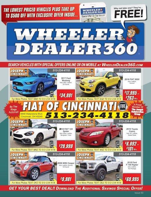 Wheeler Dealer 360 Issue 50, 2018