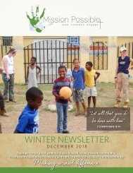 MP18 Winter Newsletter