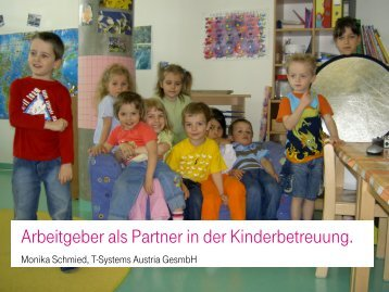 Betriebskindergarten imT-Center Wien - Plattform EduCare