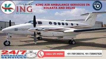 Take Cardinal Shifting by King Air Ambulance Services in Kolkata and Delhi